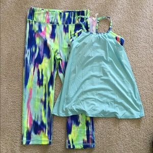 Kids workout clothes